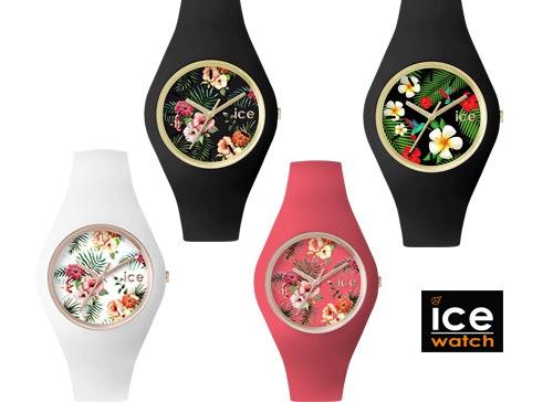 Icewatch montres fleurs