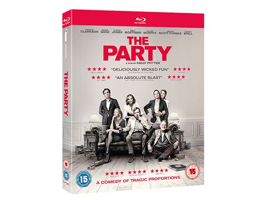 WIN A COPY OF THE PARTY ON DVD sweepstakes