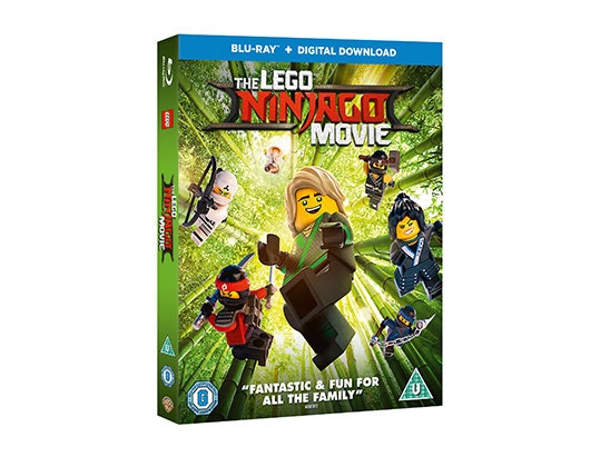 "THE LEGO® NINJAGO® MOVIE"" ON BLU-RAY™ sweepstakes"
