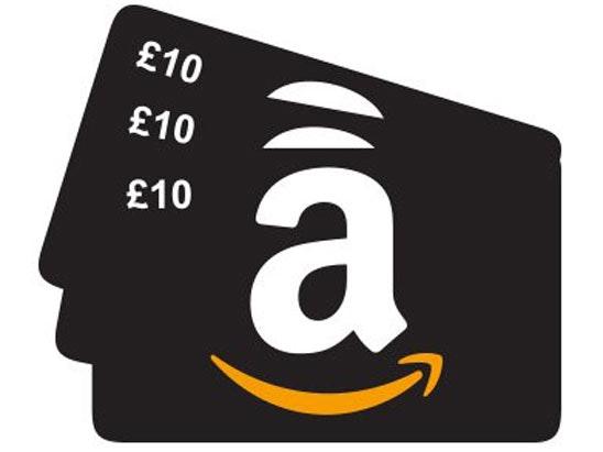 a £200 Amazon gift card sweepstakes