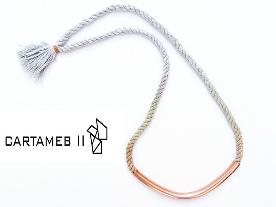 Cartameb II Smile Curve Necklace sweepstakes