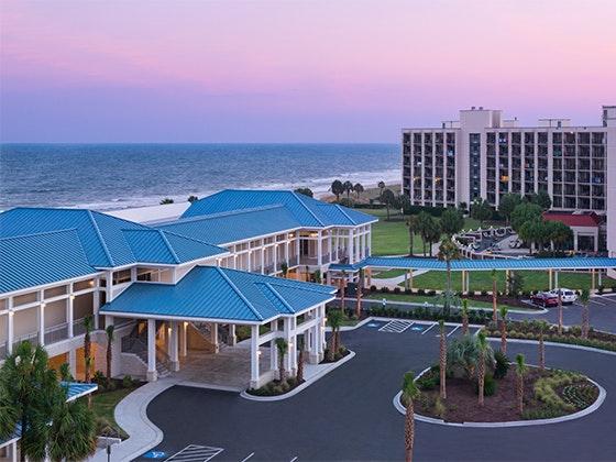 Doubletree hilton resort myrtle beach oceanfront giveaway 1