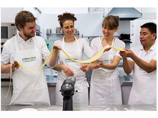 Cookery School sweepstakes