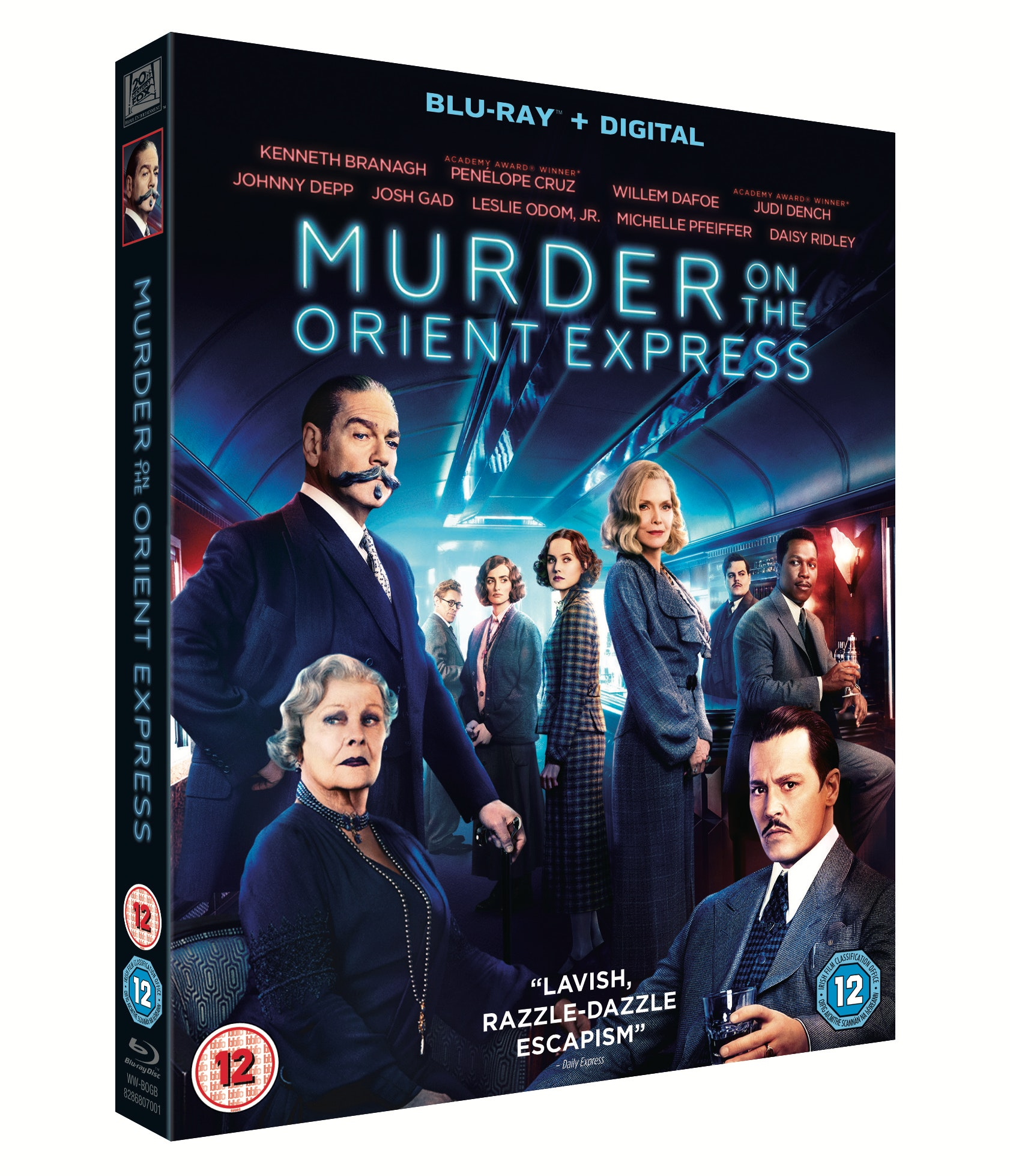 Win! Murder on the Orient Express On Blu-ray, Out Now! sweepstakes