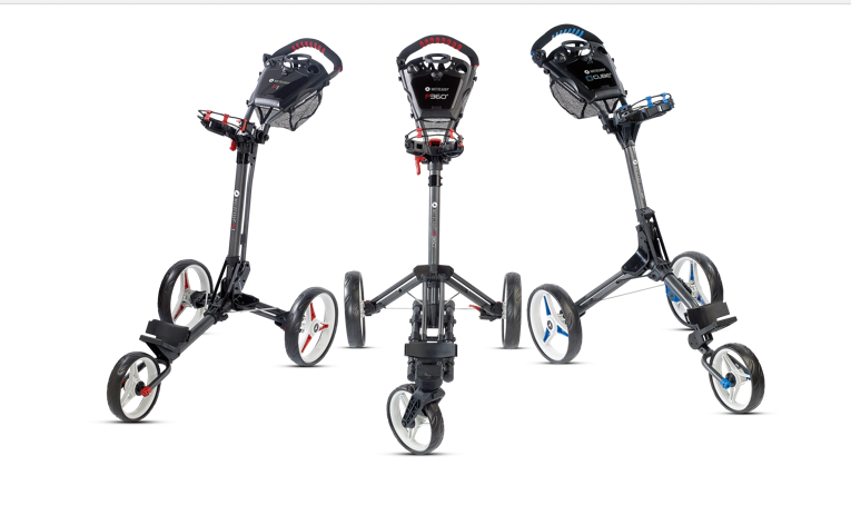 Win a brand new Motocaddy push trolley sweepstakes