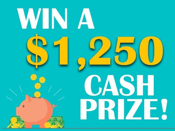 1250 cash feb giveaway 2