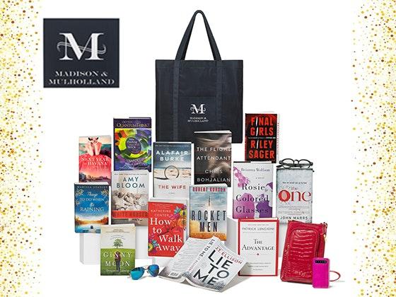 Madison & Mulholland February Bedside Reading Gift Bag sweepstakes