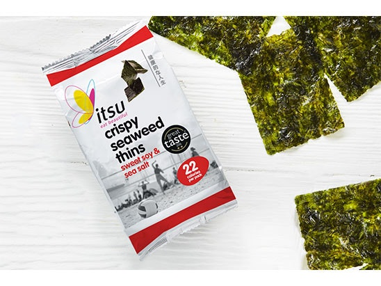 WIN 1 MONTH'S SUPPLY OF ITSU SEAWEED sweepstakes