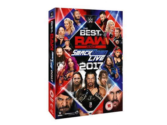 WWE Promotion - Best of Raw & SmackDown LIVE 2017 sweepstakes