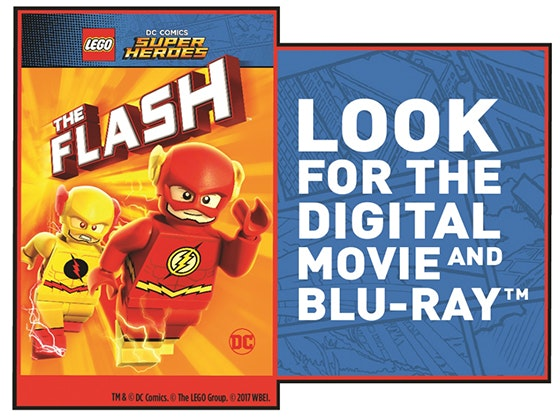 """LEGO DC Super Heroes: The Flash"" on Digital sweepstakes"