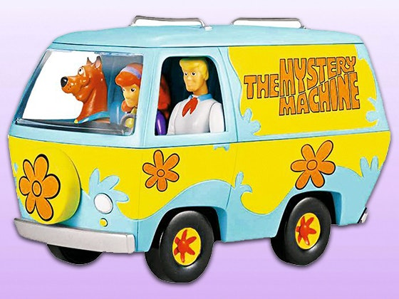 Scooby doo mystery machine biplane giveaway 1