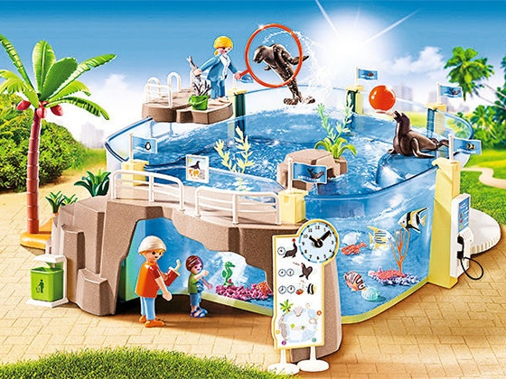 Aquarium playmobil giveaway