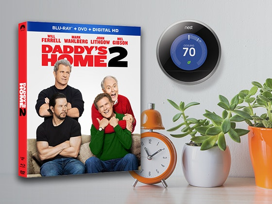Daddy's Home 2 and Nest Thermostat sweepstakes