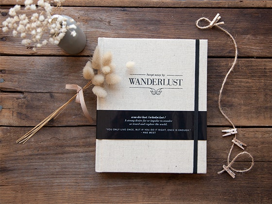 "Axel & Ash ""Swept Away by Wanderlust"" Travel Journal sweepstakes"