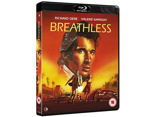 Win a copy of  Breathless starring Richard Gere on Blu-ray  sweepstakes