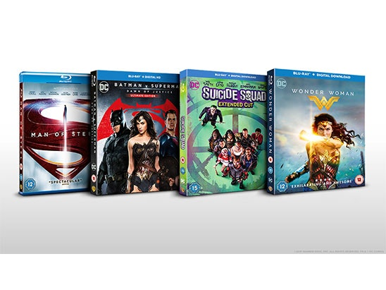 Justice League blu-ray bundle sweepstakes