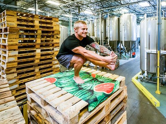 LEUS Yoga Mat Towel  sweepstakes