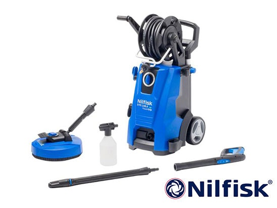 Win Nilfisk High Pressure Washer D 140.4-9 P X-TRA UK sweepstakes