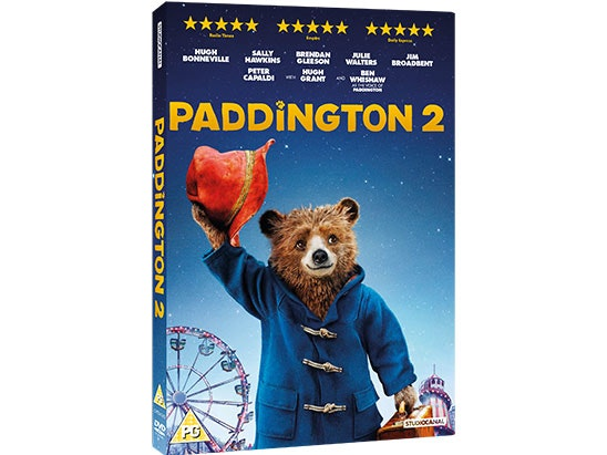 Win a copy of Paddington 2 DVD and Paddington Trunki sweepstakes