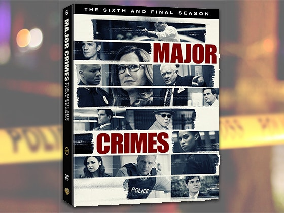 Major Crimes: The Complete Sixth and Final Season on DVD sweepstakes