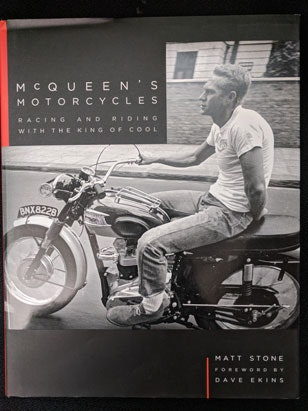 McQueens Motorcycles Book sweepstakes