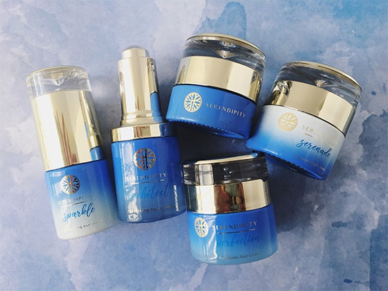 Five-Piece Serendipity Skin Care Line sweepstakes