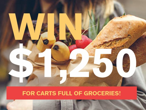 $1250 Cash March 2018 sweepstakes