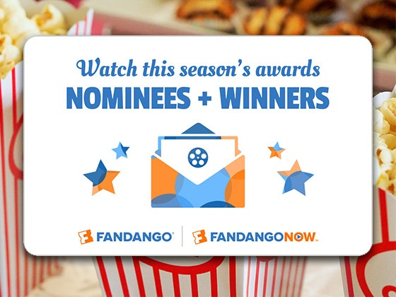Awards Season Fandango Gift Cards sweepstakes