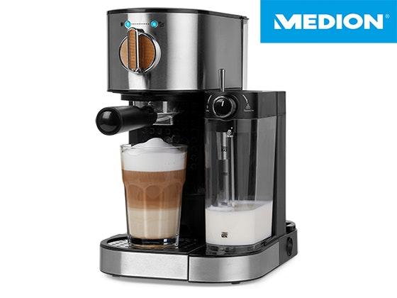 MEDION Espresso Maschine zu gewinnen Gewinnspiel