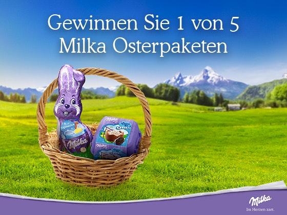 Verlosung: Milka versüßt Ostern Gewinnspiel