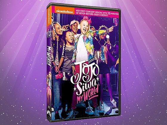 Jojo siwa myworld dvd giveaway