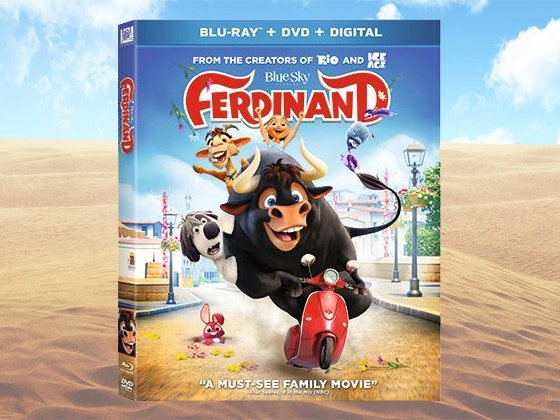 """Ferdinand"" on Blu-ray & DVD sweepstakes"