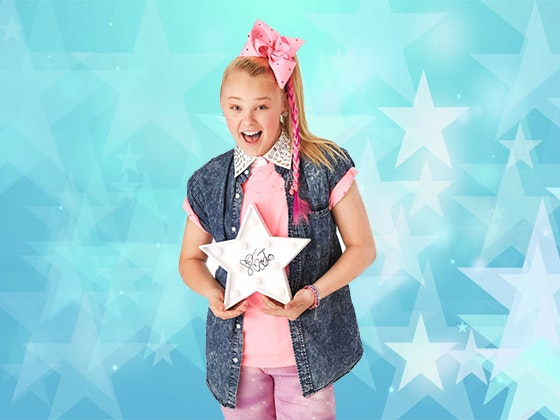 JoJo Siwa's Signed Star Light sweepstakes