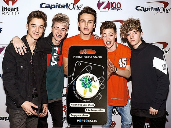 Why Don't We's Signed PopSocket sweepstakes