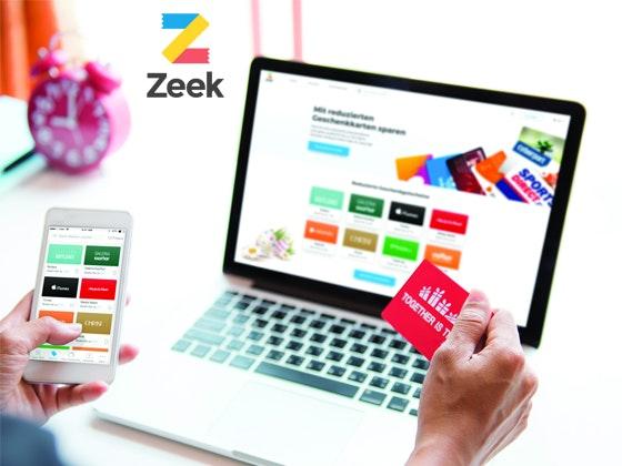 250 € für Geschenkkarten von Zeek Gewinnspiel