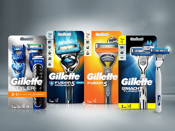 Gillette Rasurset zu gewinnen Gewinnspiel