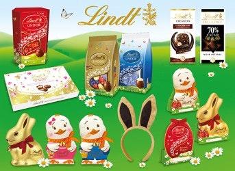 jeu concours 10 lots de chocolats Lindt pour Pâques à gagner