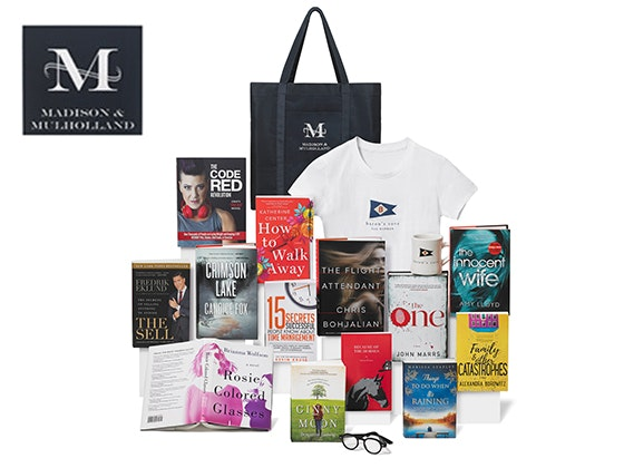 Baron's Cove Trip & Madison & Mulholland Bedside Reading Gift Bag sweepstakes