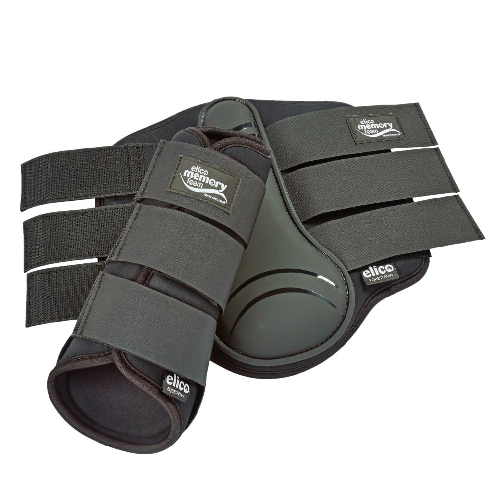 Memory foam brushing boots preview