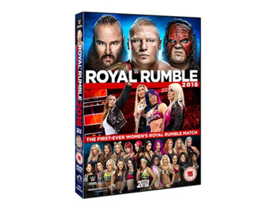 Royal Rumble 2018 sweepstakes