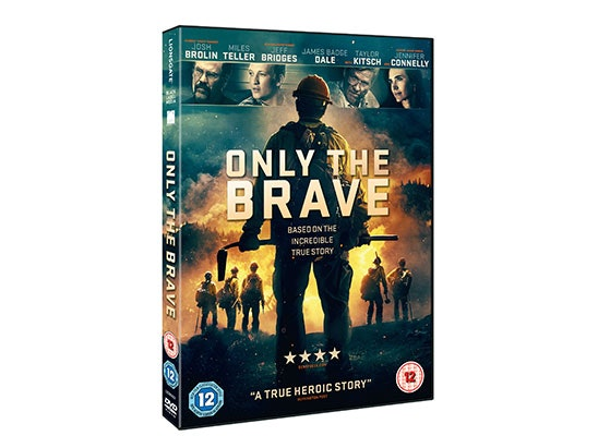 ONLY THE BRAVE DVD sweepstakes