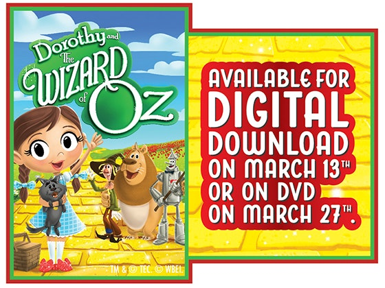 """Dorothy and the Wizard of Oz: We're Not in Kansas Anymore"" on DVD sweepstakes"