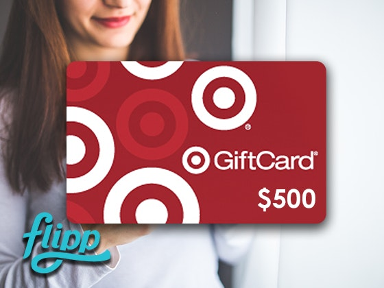 $500 Target Gift Card from Flipp sweepstakes