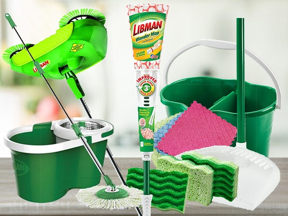 "Libman ""Embrace Life's Messes"" Spring Cleaning Prize Package sweepstakes"