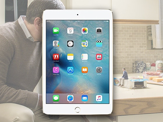 Downsizing on Digital and iPad mini 4 sweepstakes