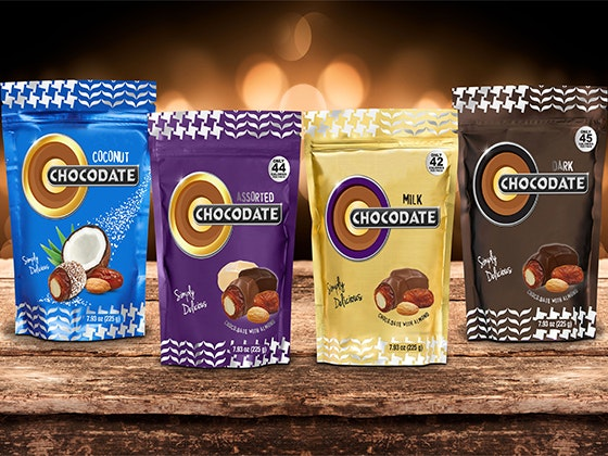Chocodate pouches giveaway