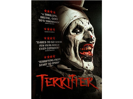 Terrifier sweepstakes