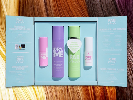 Design.Me Squad Hair Care Collection sweepstakes