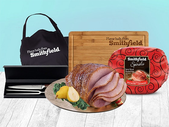 Smithfield Spiral Sliced Ham Easter Bundle sweepstakes