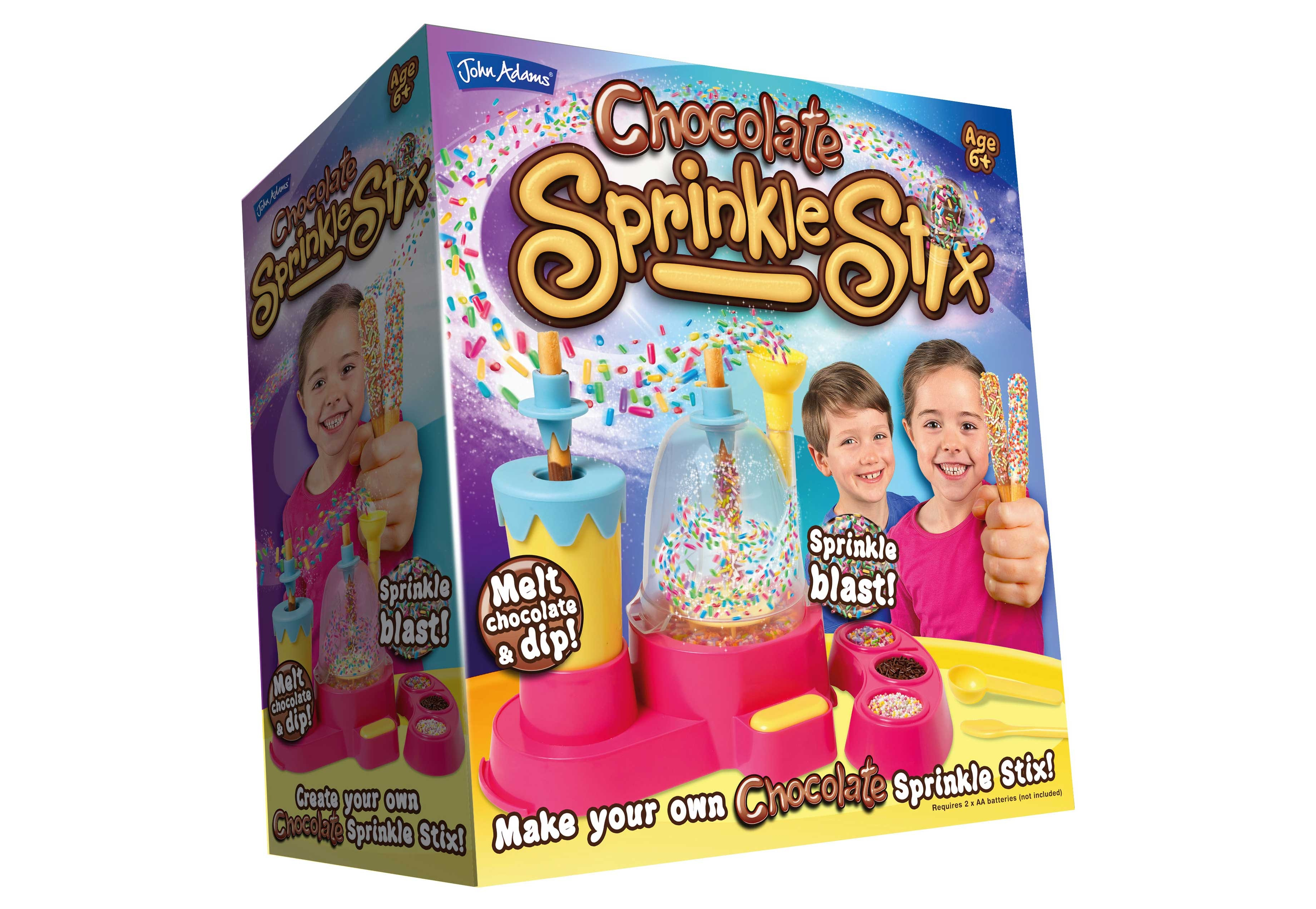 CHOCOLATE SPRINKLE STIX AND CHOCOLATE LOLLY MAKER PRIZES sweepstakes